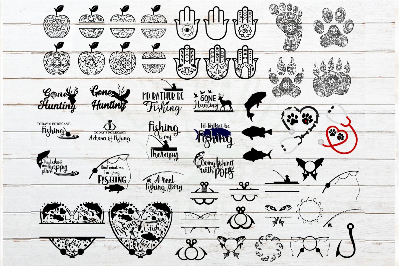 The Mega SVG Bundle Design Volume 2. More than 250 Designs in SVG,PNG,DXF,PDF,EPS formats - svg bundle for cricutfishing bundletrain bundlehoney bee honeycomb svganimal nbundleowl svgfish bundlefarm bundle svgballet bundle svgcute monster faces 8 scaled -