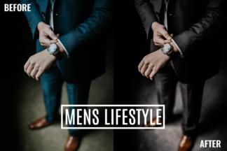 Desktop Lightroom Presets - Mens Lifestyle 2 -