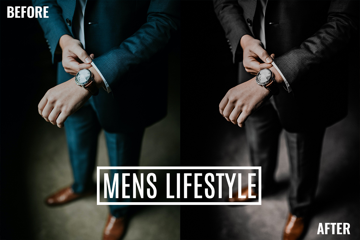 Lightroom Presets - Mens Lifestyle Bundle - Mens Lifestyle 2 -