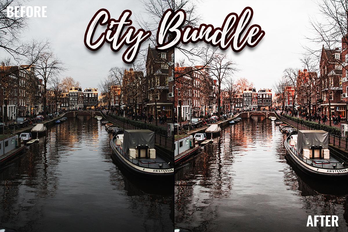 Lightroom Presets - City Bundle - Cover 1 4 -
