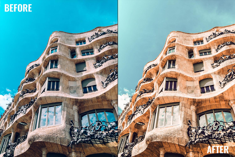 Lightroom Presets - City Bundle - Barcelona -