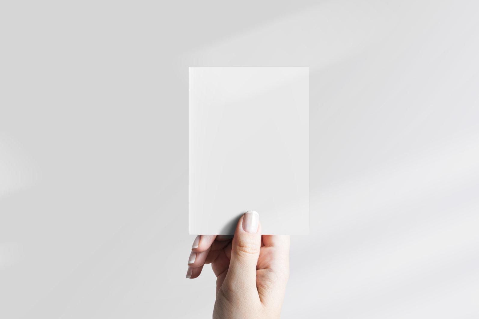 Card Mockup, Poster Mockup, Photo Mockup #780 | PSD + Smart Object - 780 JPEG scaled -