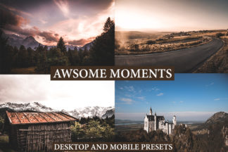 Professional Lightroom Presets - preview LUTS 1 -