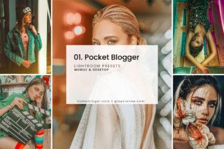 Minimalistic Lightroom Presets - 01. Pocket Blogger Presets -