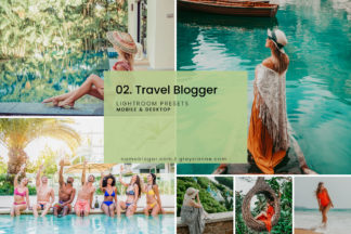 White Lightroom Presets - 02. Travel Blogger Presets CAPA -