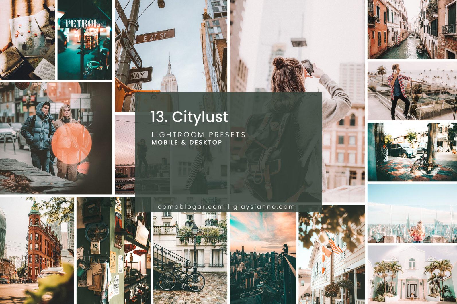 13. City Lust - Lightroom Presets - 13.CITYLUST 1 -
