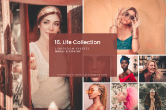 White Lightroom Presets - 16.LIFECOLLECTION 01 -