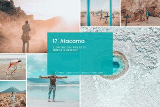 Minimalistic Lightroom Presets - 17. Atacama 8 -