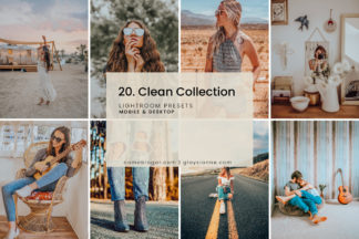White Lightroom Presets - 20.CLEANCOLLECTION 1 -
