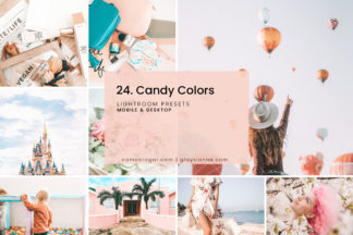 White Lightroom Presets - 24.CANDYCOLORS 1 -