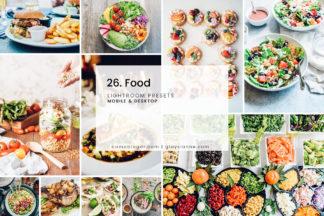 Lifestyle Lightroom Presets - 26.food 1 -
