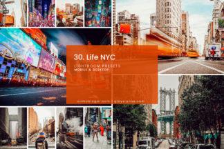 Lifestyle Lightroom Presets - 30.NYCLIFE 1 -