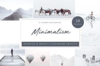 White Lightroom Presets - Minimalism LR 1 -