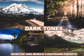 Professional Lightroom Presets - preview LUTS 1 2 -