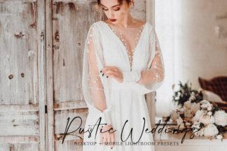 Lifestyle Lightroom Presets - Rustic Weddings Advert -