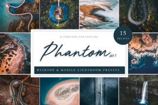 Green Lightroom Presets - Phantom Vol. 3 LR 1 -