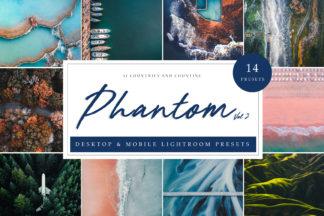 Summer Lightroom Presets - Phantom Vol. 2 LR -