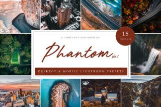 Free Lightroom Presets - Phantom Vol. 1 LR -