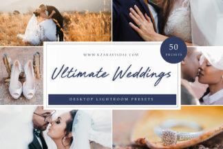 Lifestyle Lightroom Presets - Ultimate Weddings LR 1 -