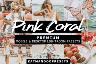 Lifestyle Lightroom Presets - pink coral presets lightroom crella 2 -