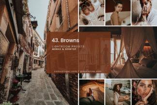 Lifestyle Lightroom Presets - 43.BROWNS 01 -