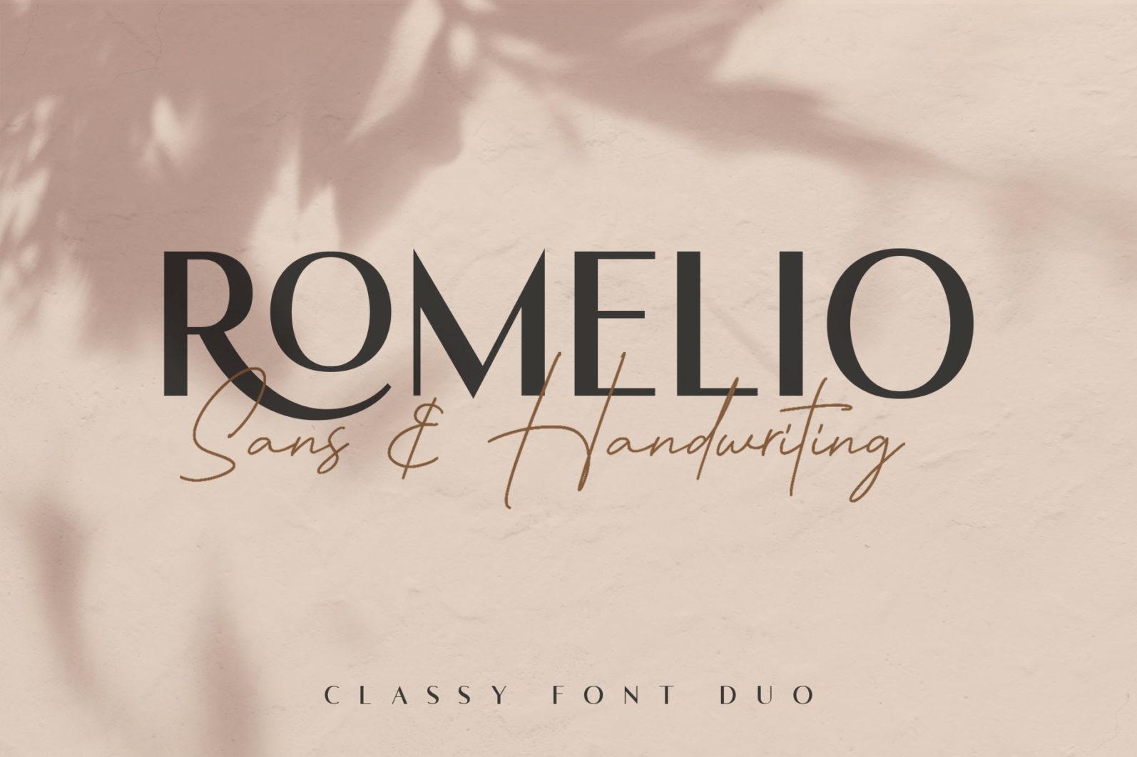 Romelio - Font Duo - 1 326 -
