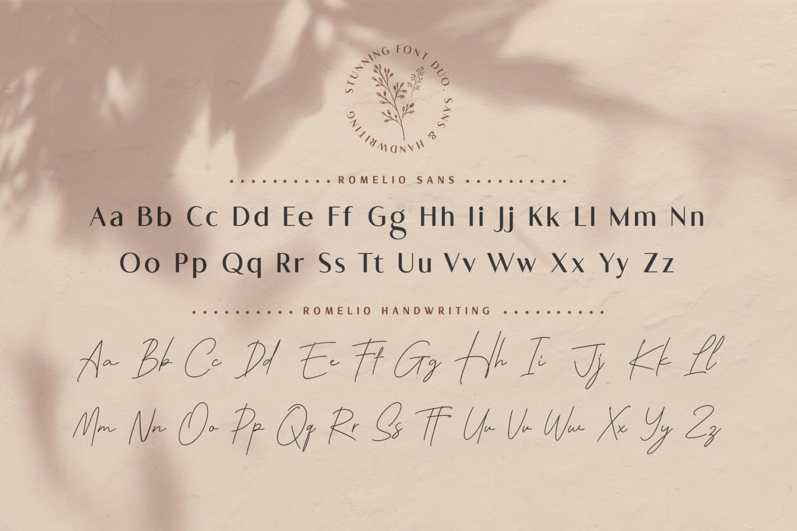 Romelio - Font Duo - 9b 1 -