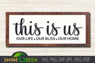 Free SVG Files - Family SVG Shine Green Art wall -