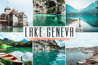 Crella Subscription - Lake Geneva Mobile Desktop Lightroom Presets Cover -