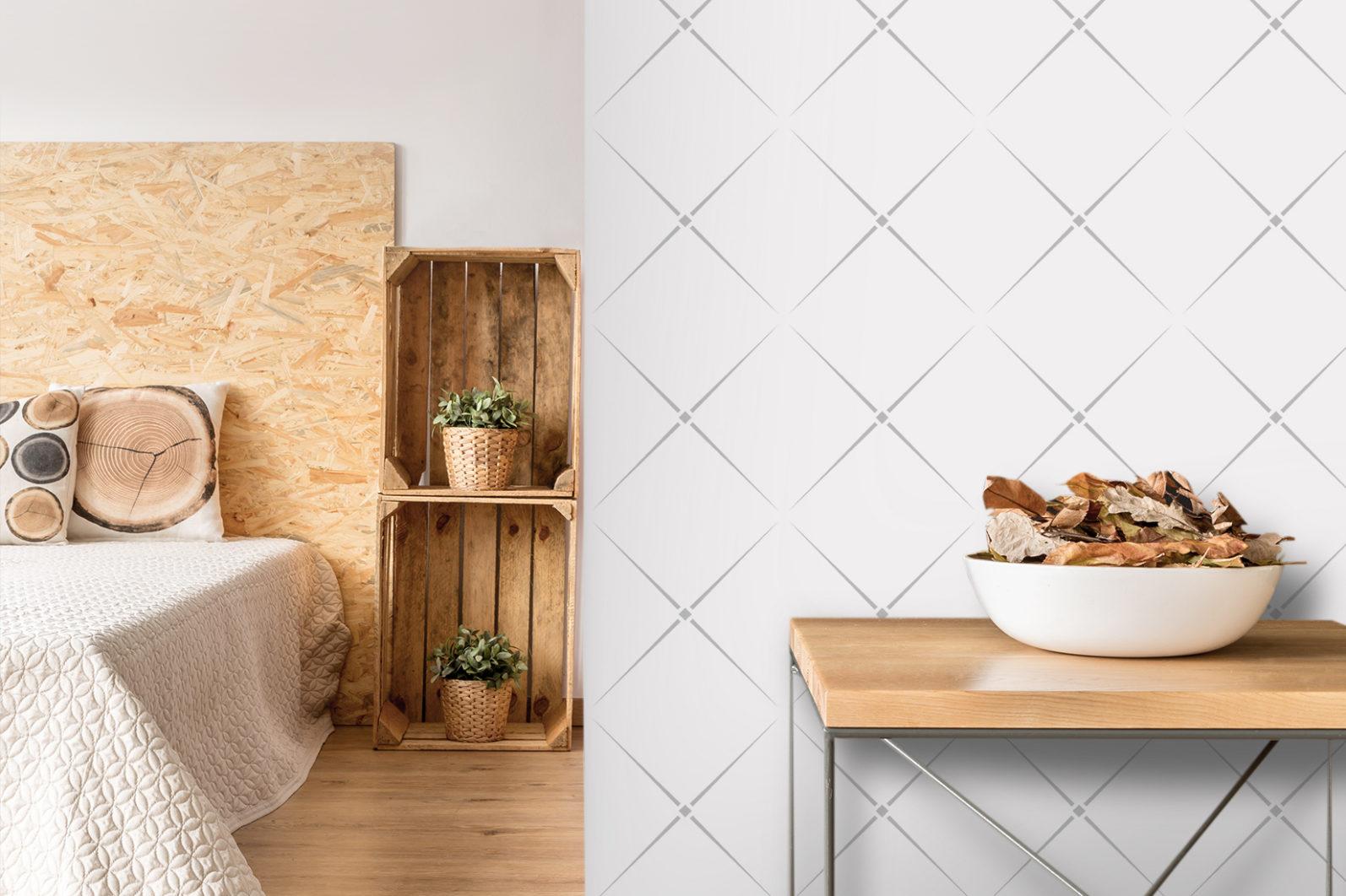 Wall Mockup #33, Wallpaper mockup, Interior mockup, Living Room interior mockup - Wall 33 PREVIEW 3 -