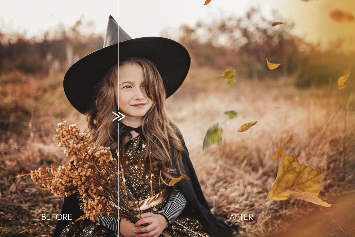 70 Natural Falling Autumn Leaves Photoshop Overlays - autumn falling leaves photoshop photography overlays 4 -