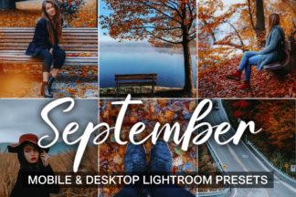Green Lightroom Presets - Instagram presets cover product mobile desktop 1 -