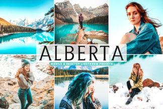 Crella Subscription - Alberta Mobile Desktop Lightroom Presets Cover -