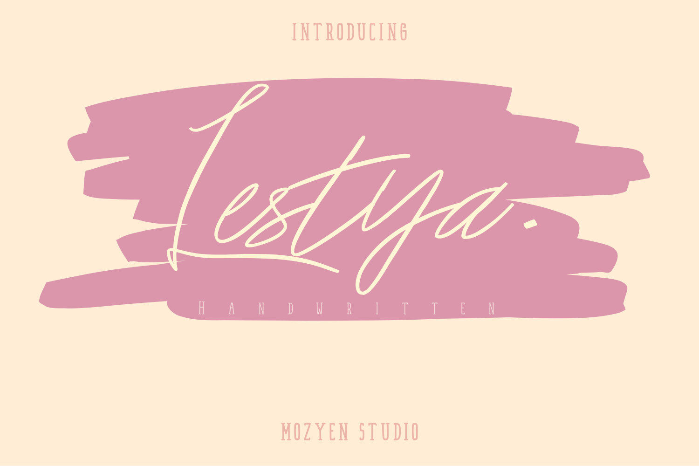 Lestya | Handwritten - Lestya 01 -