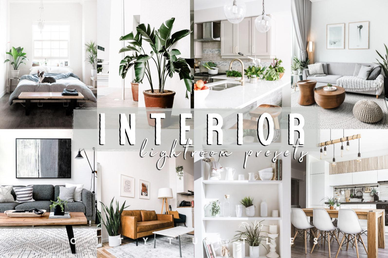 THE LIGHT & AIRY BUNDLE - Natural Clean Bright Lightroom Presets for Desktop + Mobile - bright white interior home indoor real estate lightroom presets 1 -