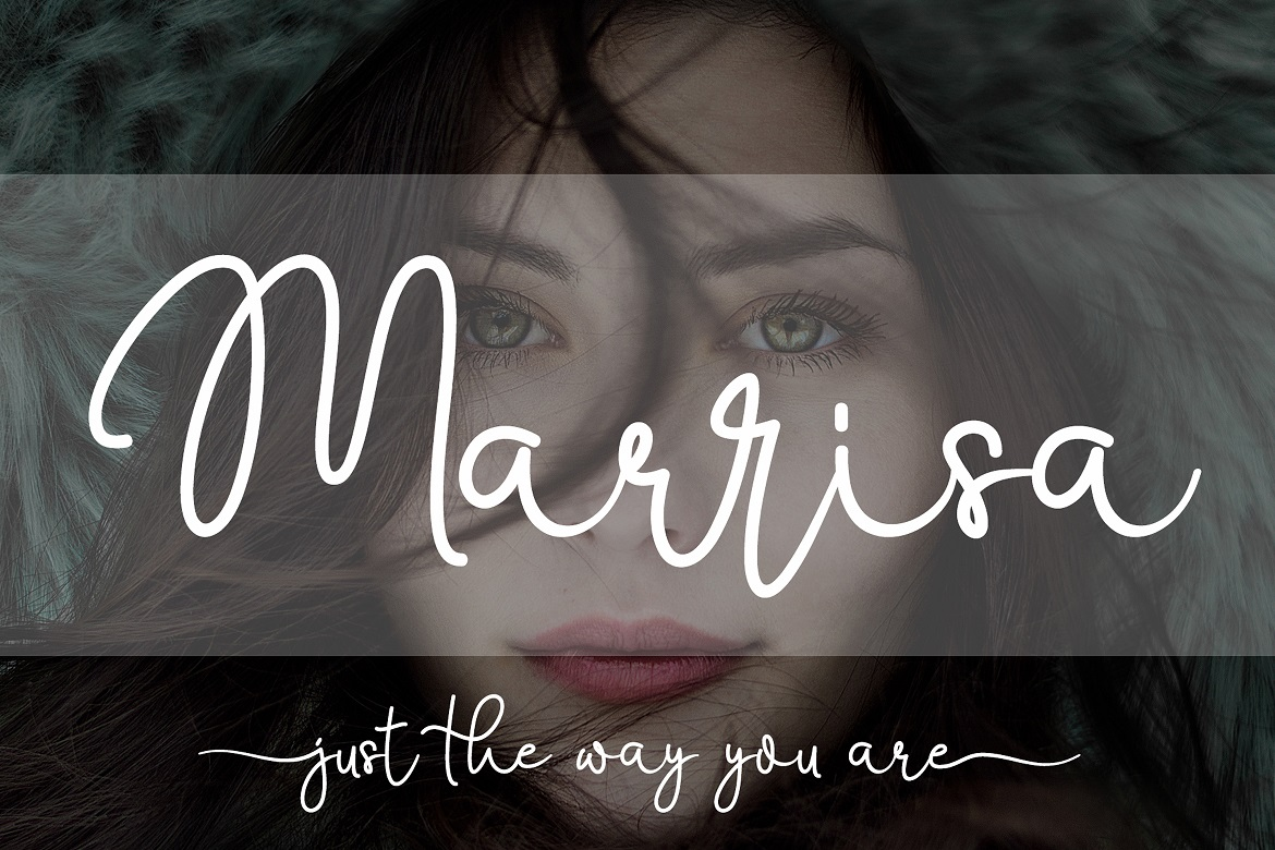 The 15 in 1 Wonderful Font Bundle - COVER Marrisa -