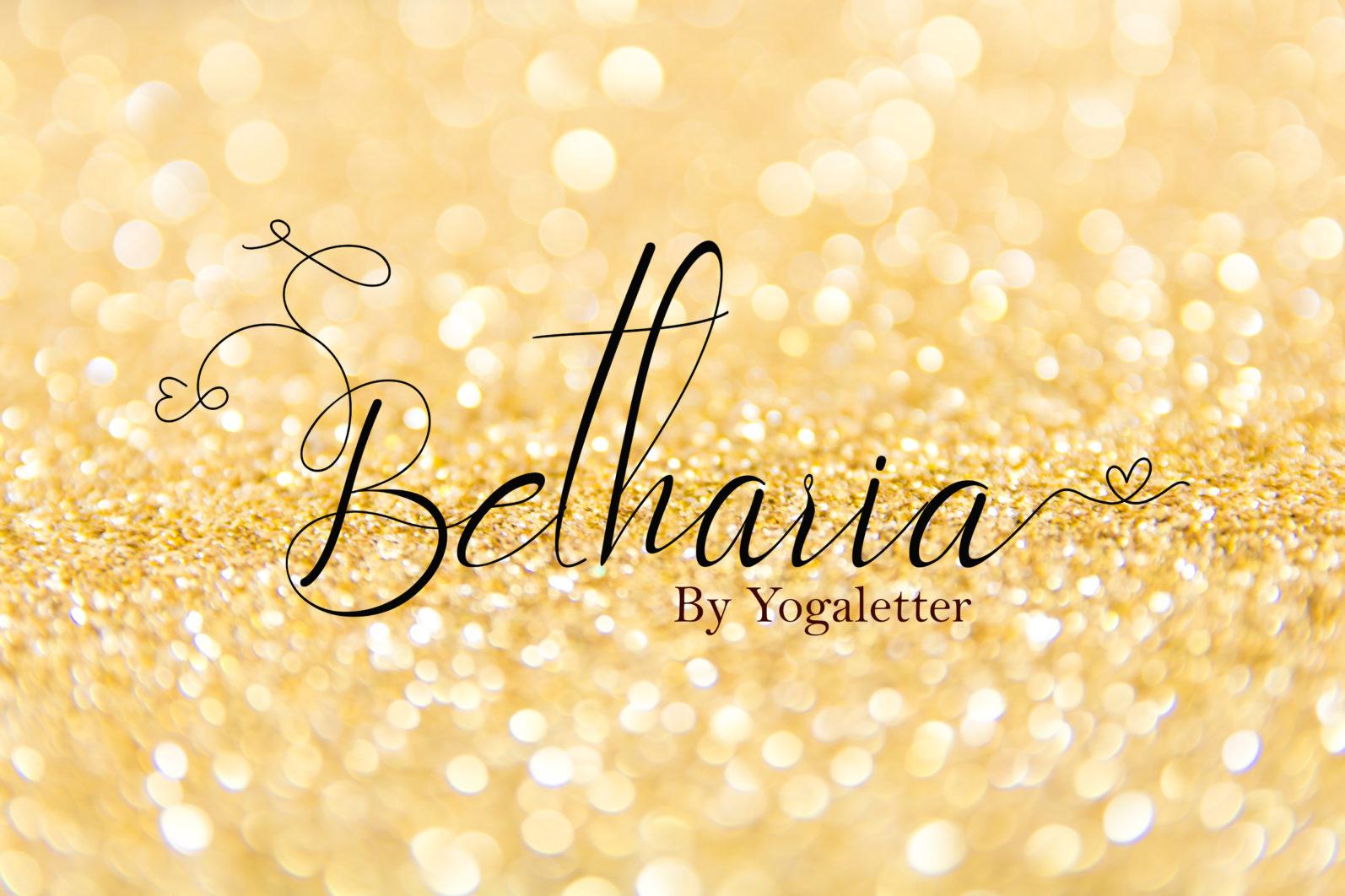 Beautiful Script Font Bundle - betharia 1 scaled -