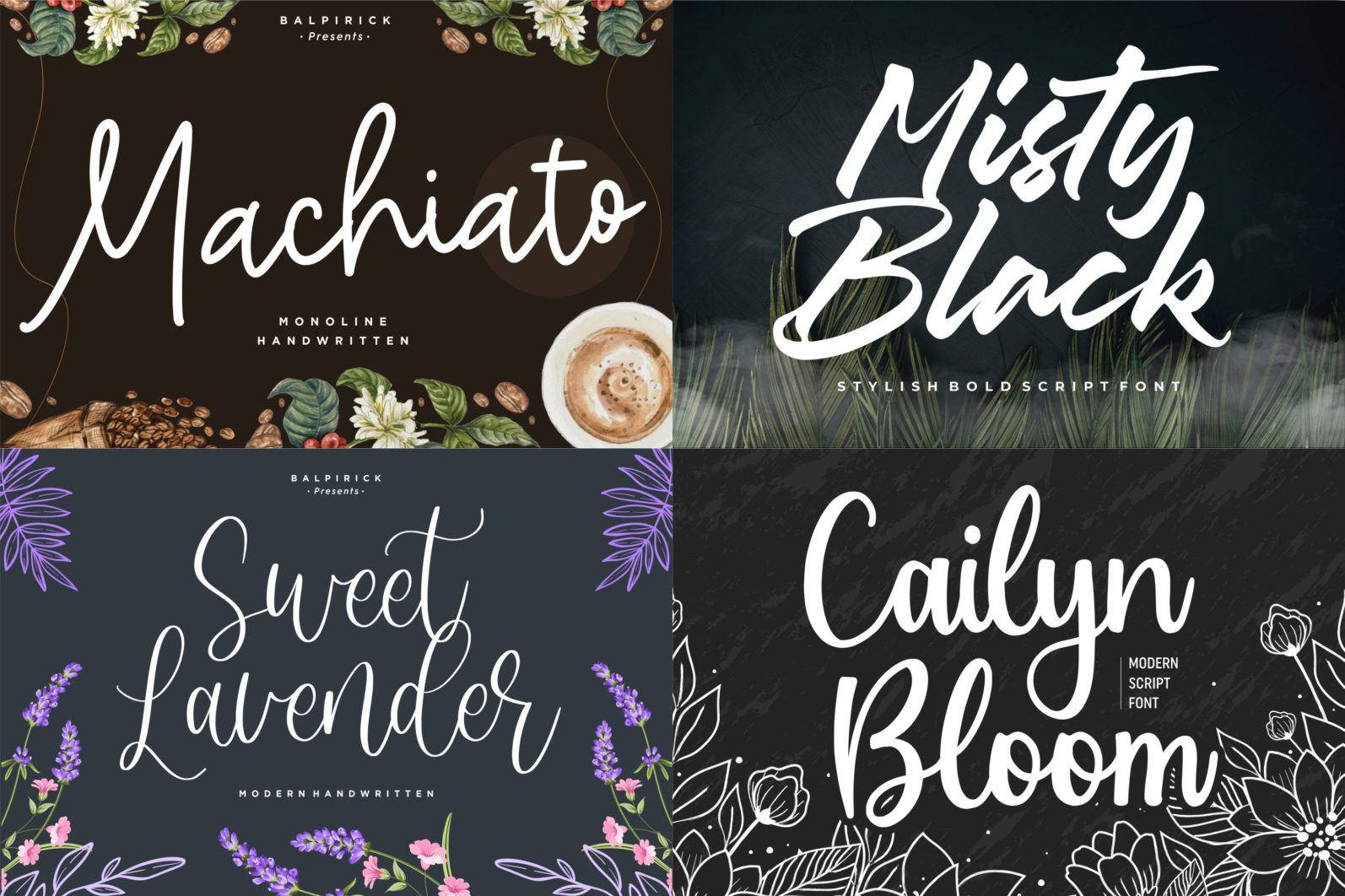 The Ultimate 50 Fonts   Limited Time Off - 1 161 scaled -