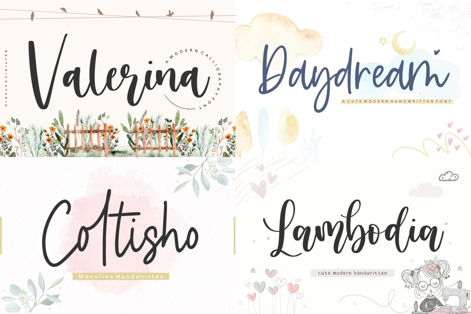 The Ultimate 50 Fonts   Limited Time Off - 7 57 scaled -