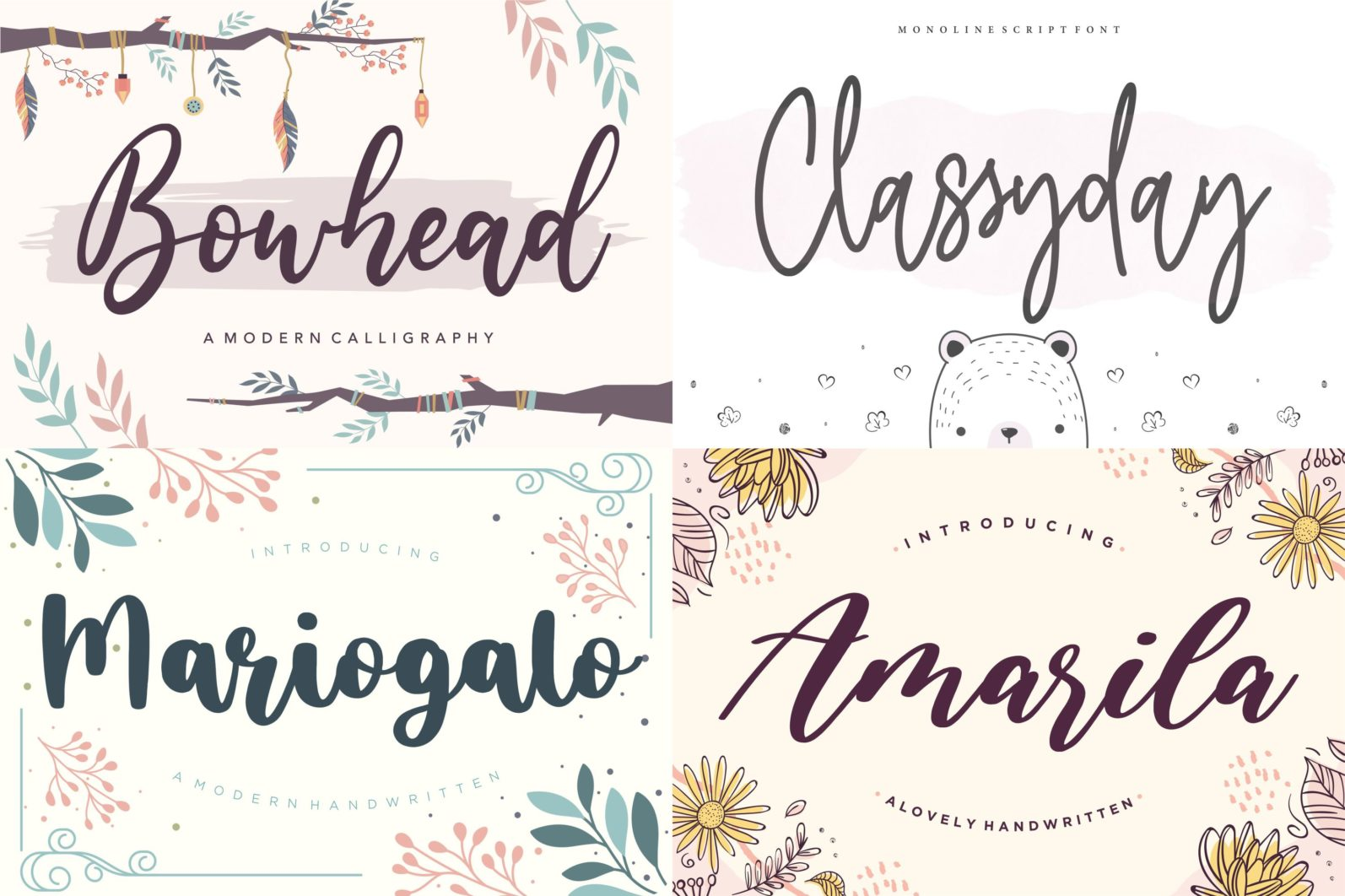 The Ultimate 50 Fonts   Limited Time Off - 10 39 scaled -