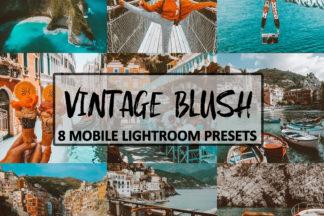 Spring Lightroom Presets - VintageBlush -