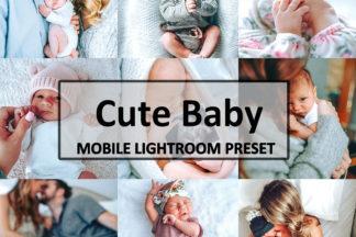 Spring Lightroom Presets - Cute Baby -