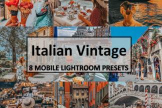 Spring Lightroom Presets - Italian Vintage -
