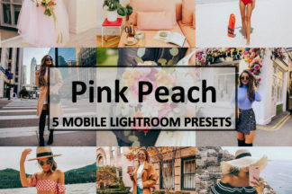 Spring Lightroom Presets - Pink Peach -