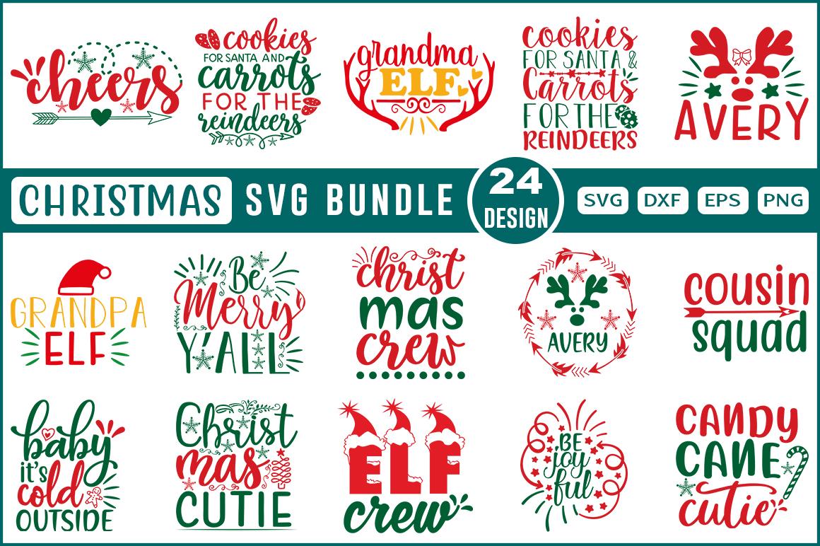 Christmas SVG Design Bundle- 0001 - Christmas vol 001 -