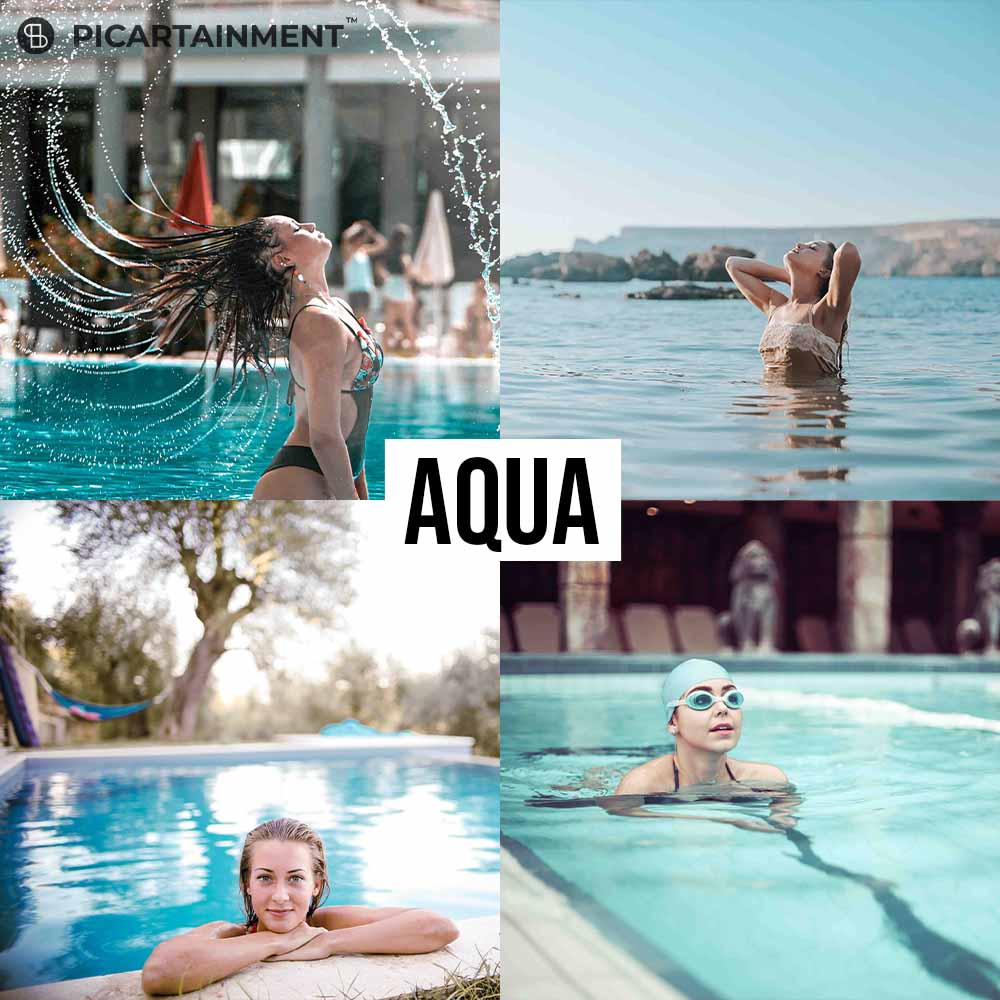 101 All in One Lightroom Presets Bundle - Aqua -
