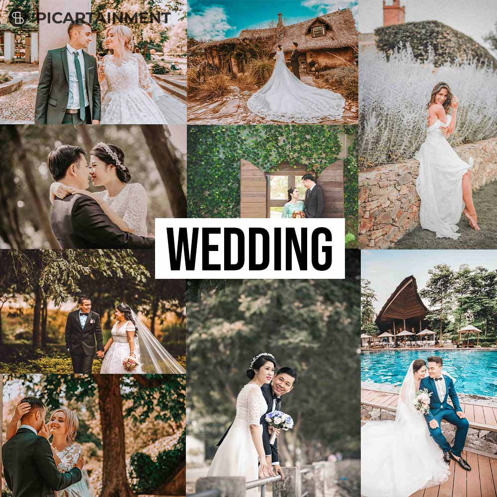 101 All in One Lightroom Presets Bundle - Wedding -