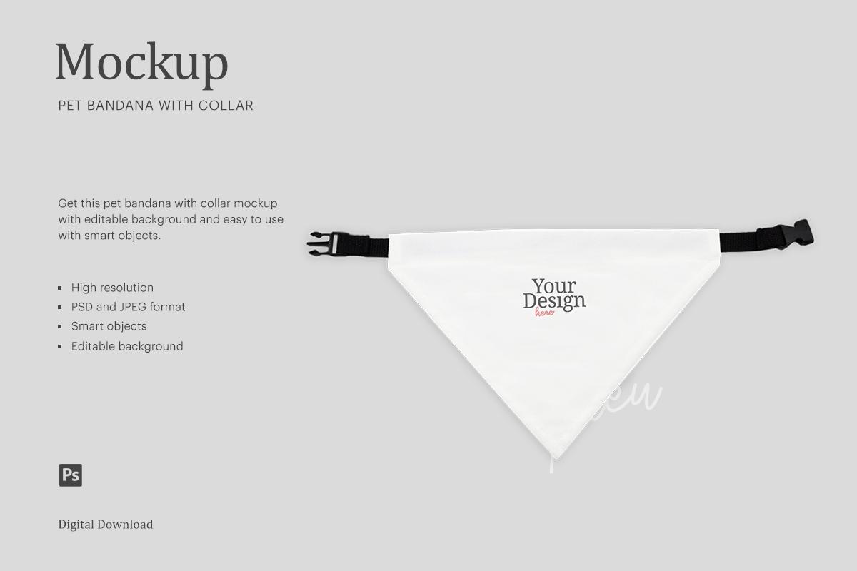Download Pet Collar Bandana On Collar Crella