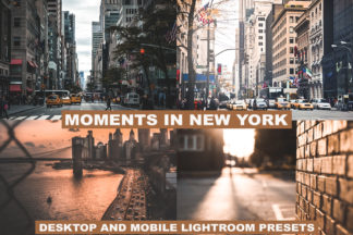 Professional Lightroom Presets - preview LUTS 1 4 -