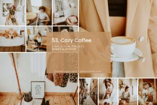 Minimalistic Lightroom Presets - 53.COZY COFFEE 01 -